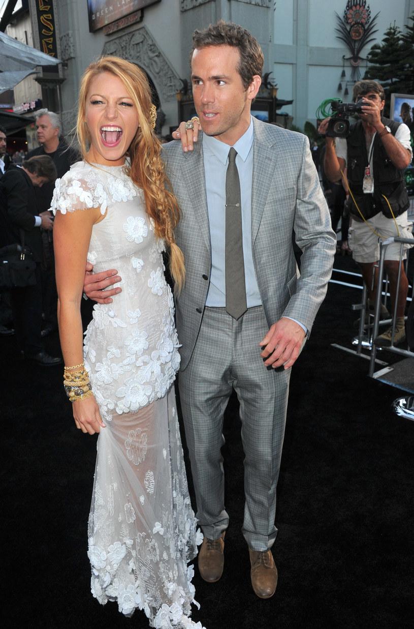 Blake Lively i Ryan Reynolds /Alberto E. Rodriguez /Getty Images