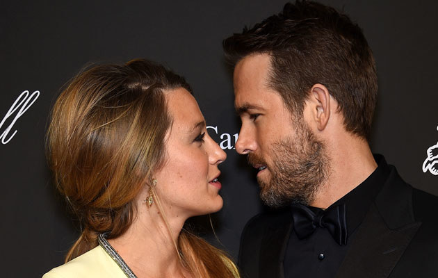 Blake Lively i Ryan Reynolds /Dimitrios Kambouris /Getty Images