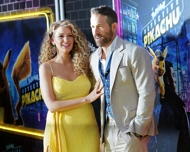 Blake Lively i Ryan Reynolds /Empics Entertainment /PAP/EPA