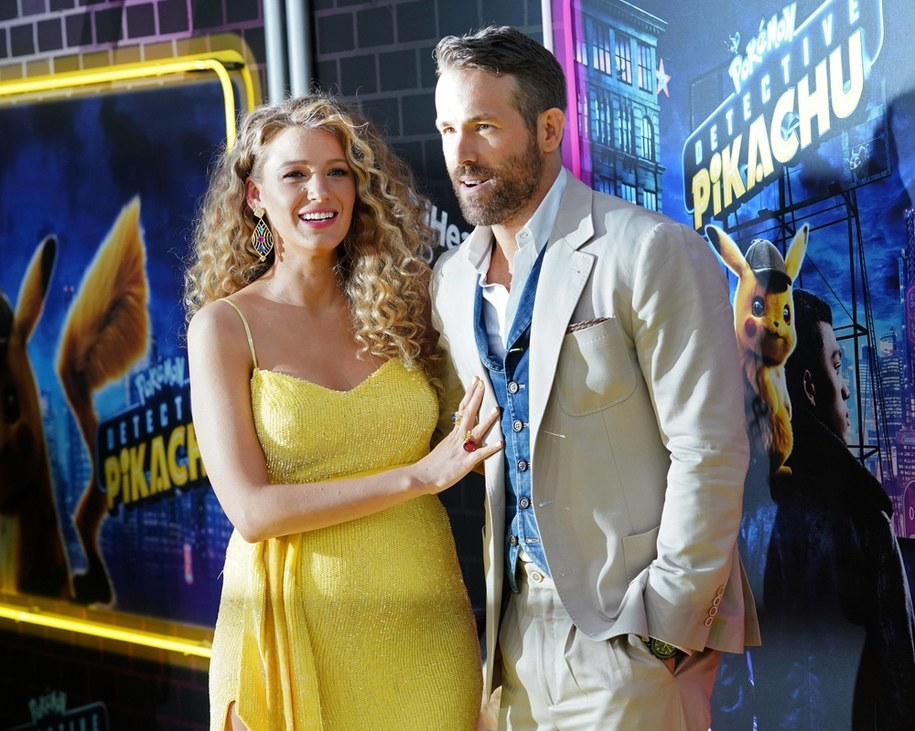 Blake Lively i Ryan Reynolds /Empics Entertainment /PAP/EPA