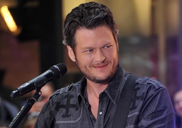 """Blake Shelton występował w """"The Voice"""" obok Christiny Aguilery, Adama Levine'a i Cee Lo Greena /Getty Images/Flash Press Media"""