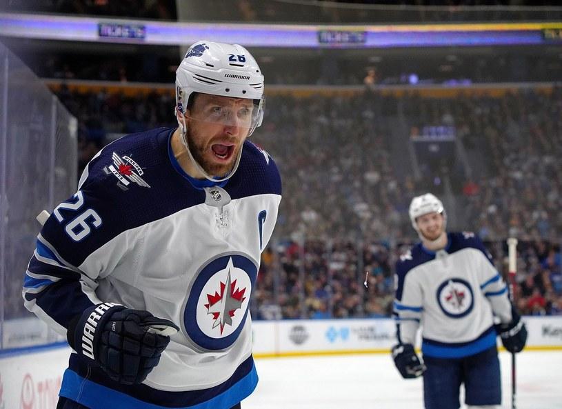 Blake Wheeler, kapitan Winnipeg Jets /AFP