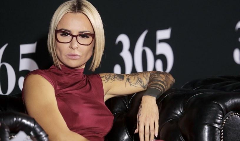 Blanka Lipińska była w związku z Aleksandrem Milwiwem-Baronem. Czy teraz znów jest zakochana? /Adam Jankowski /Reporter