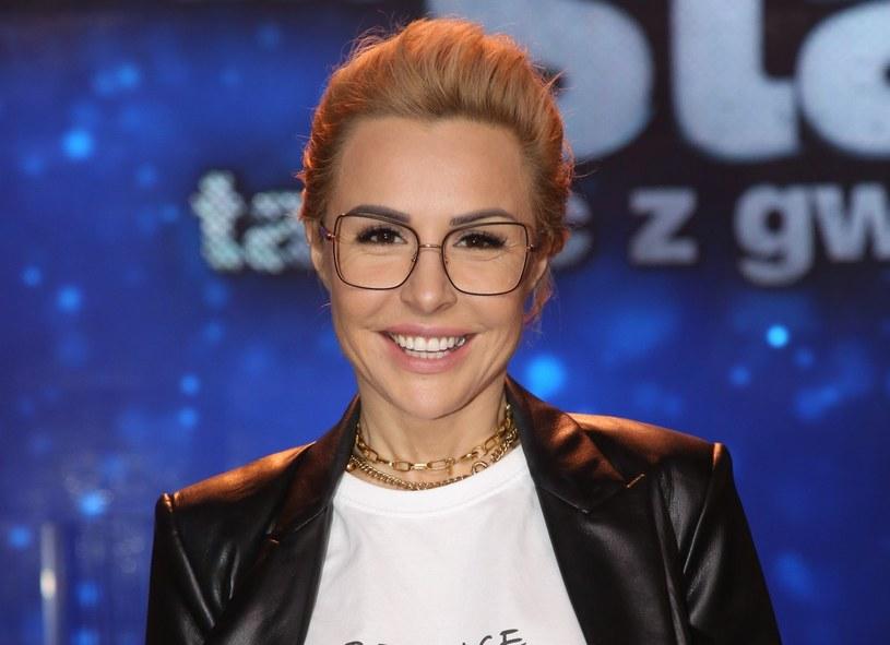 """Blanka Lipińska podczas """"Tańca z gwiazdami"""" /Piotr Molecki /East News"""