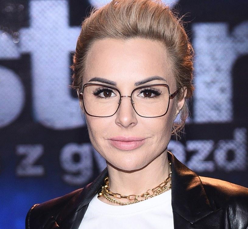Blanka Lipińska tworzy szczęśliwy związek z Aleksandrem Baronem /VIPHOTO/EAST NEWS  /East News