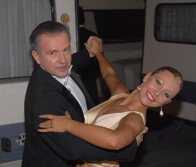 Blanka Winiarska i Tomasz Stockinger w 2006 roku /Tricolors /East News