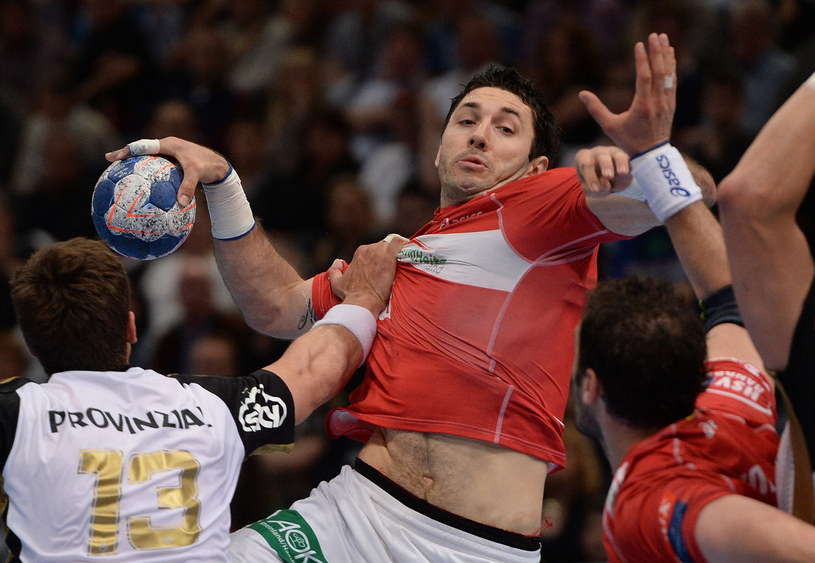 Blaženko Lacković w akcji /AFP