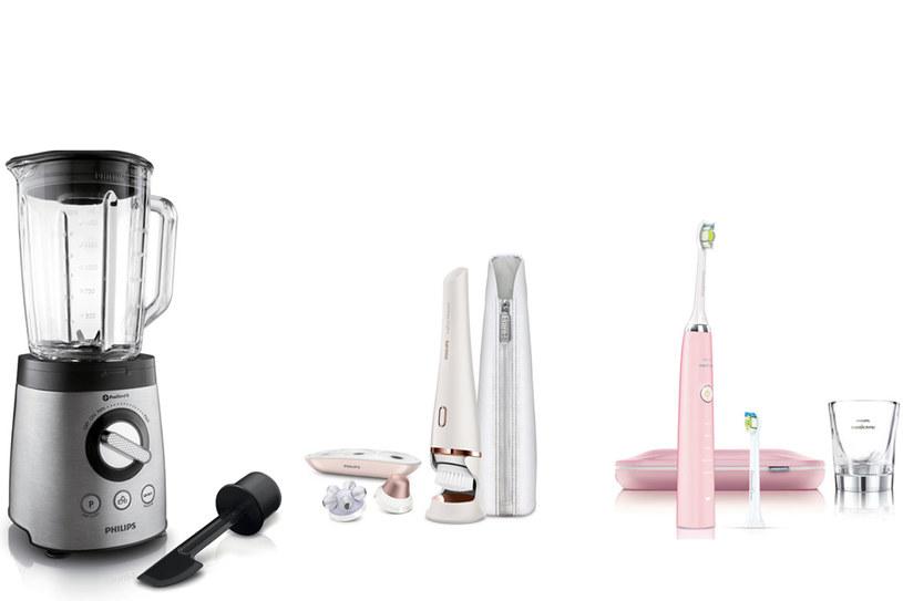 Blender kielichowy z technologią ProBlend, VisaPure Advanced oraz szczoteczka Philips Sonicare /materiały prasowe