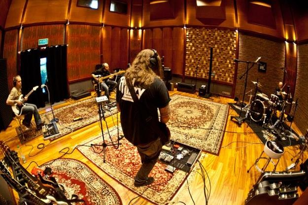 Blindead w studiu - fot. Bartosz Hervy /