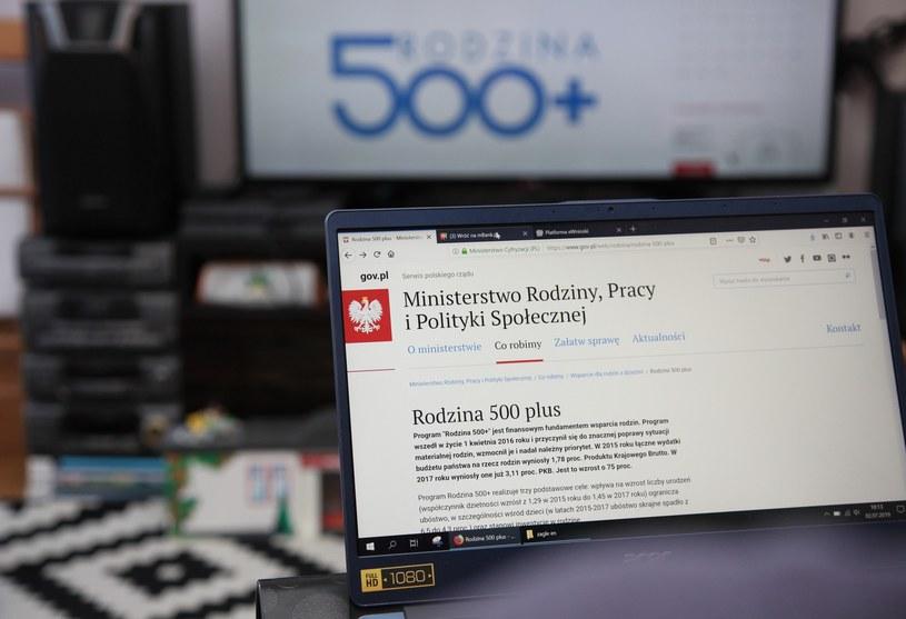"""Blisko 1,5 mln wniosków o """"500 plus"""" /Anna Golaszewska /East News"""