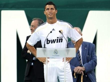 Blisko 80 tysięcy kibiców Realu Madryt przybyło na prezentację Cristiano Ronaldo /AFP