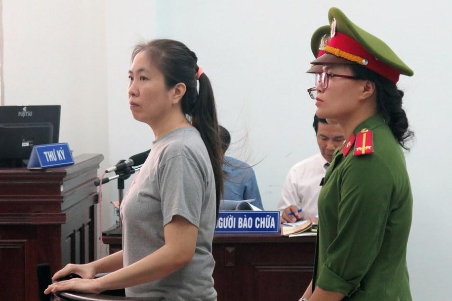 Blogerka została skazana na 10 lat więzienia /VIETNAM NEWS AGENCY /PAP/EPA