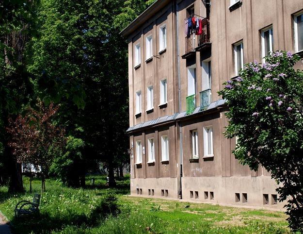 Blok na os. Sportowym, jednym z najstarszych osiedli nowohuckich. Fot. Jacek Boroń /Reporter