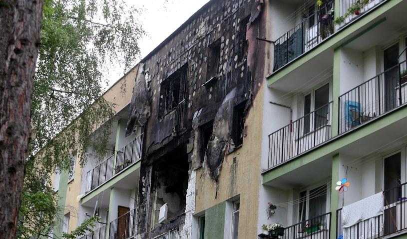 Blok przy ul. Wojska Polskiego w Nowym Targu, w którym doszło do wybuchu gazu /Grzegorz Momot /PAP