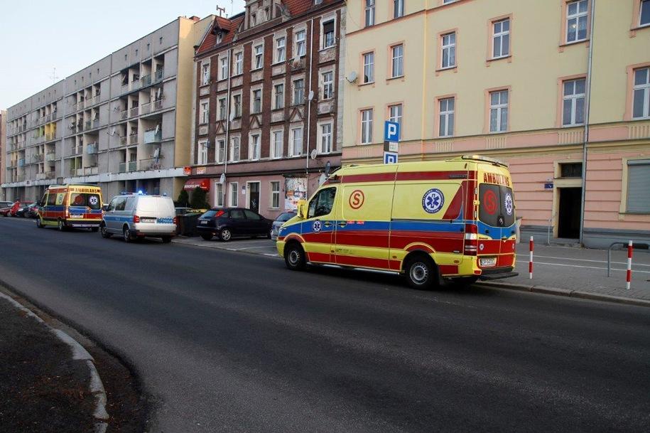 Blok, w którym doszło do zbrodni /Mariusz Materlik /Gorąca Linia RMF FM