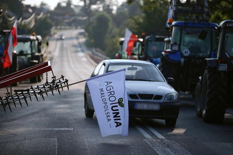 Blokada drogi w Wawrzeńczycach; zdj. ilustracyjne /Łukasz Gągulski /PAP