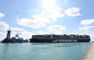 Blokada Kanału Sueskiego. Skonfiskowano kontenerowiec