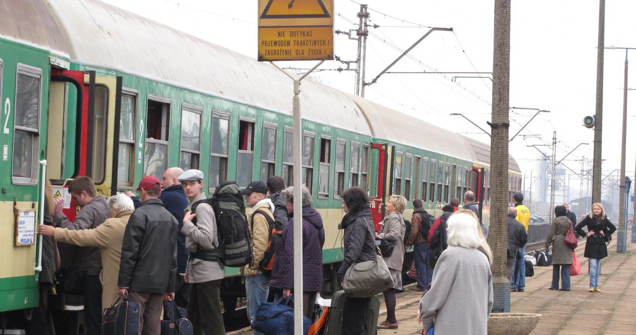 Blokada torów w Motyczu koło Lublina