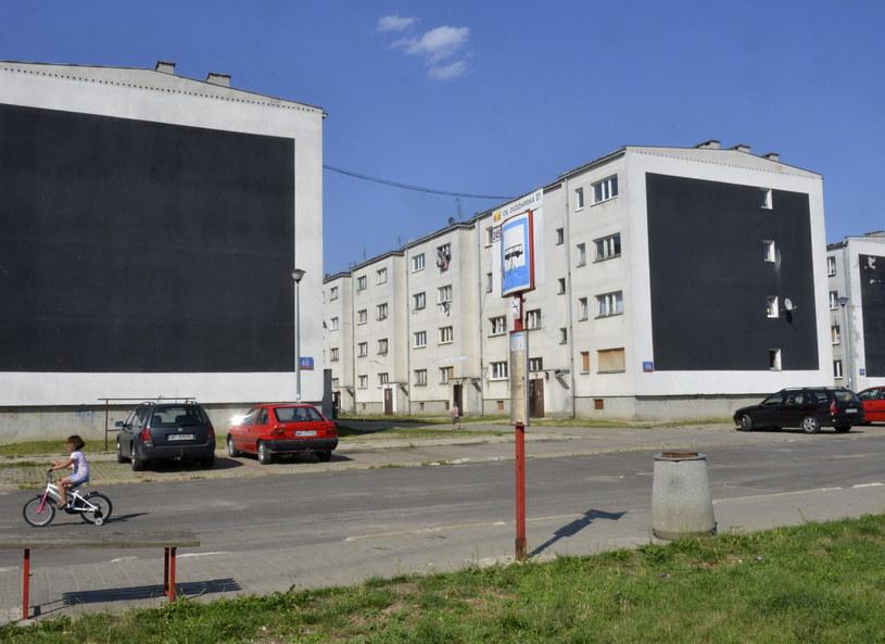Bloki przy ul. Dudziarskiej w Warszawie /Wlodzimierz Wasyluk/REPORTER /East News