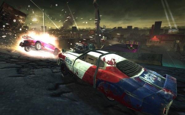 Blood Drive - motyw z gry /Informacja prasowa