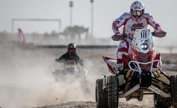 Błotnisty i słony start Rajdu Kataru