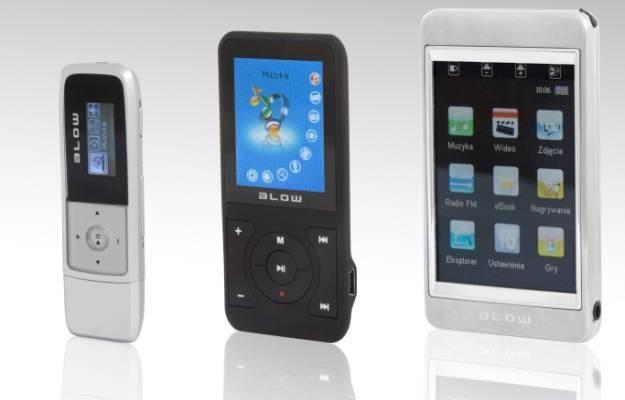 BLOW MP3 X10 oraz BLOW MP4 X12 i X15 /materiały prasowe
