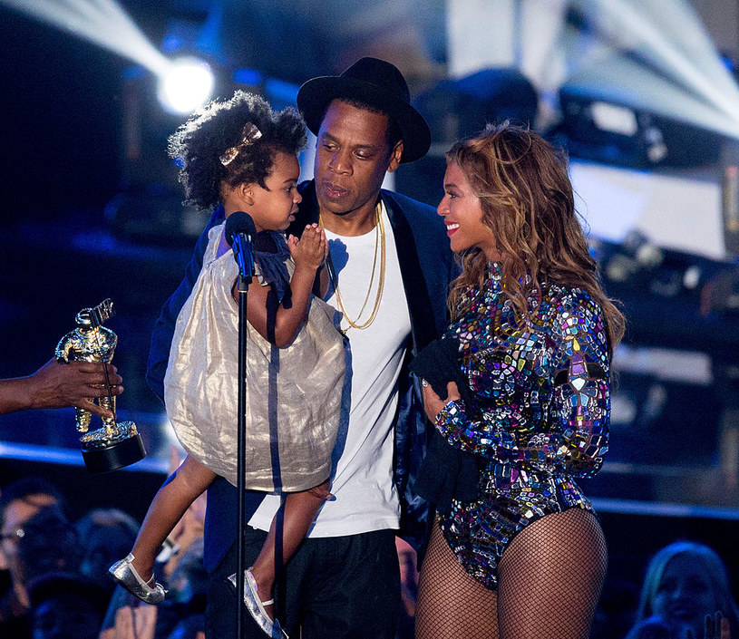 Blue Ivy, Jay-Z i Beyonce /Getty Images