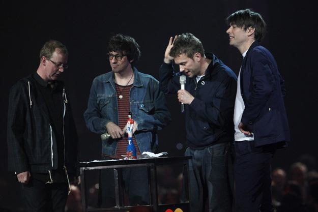 Blur na tegorocznej gali Brit Awards - fot. Dave Hogan /Getty Images/Flash Press Media