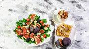Błyskawiczna sałatka z figami, serem i gorgonzolą