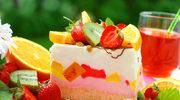 Błyskawiczny tort owocowy