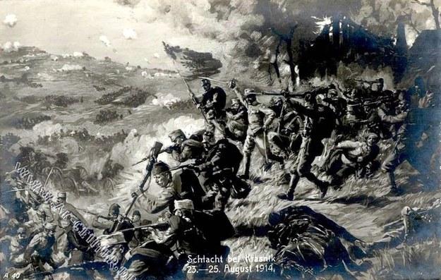 """Błyskotliwe sukcesy habsburskiej armii w pierwszych tygodniach wojny – jak bitwa pod Kraśnikiem – nie wystarczyły, by zatrzymać zalew ziem polskich przez carskich """"mużyków"""". /Odkrywca"""