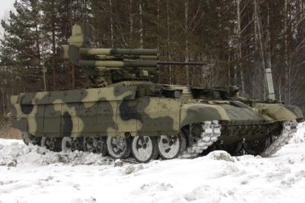 BMPT Tank Support Fighting Vehicle.    Fot. uralvagonzavod.com /materiały prasowe