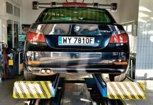 BMW 530d (E60) przed liftingiem /Motor