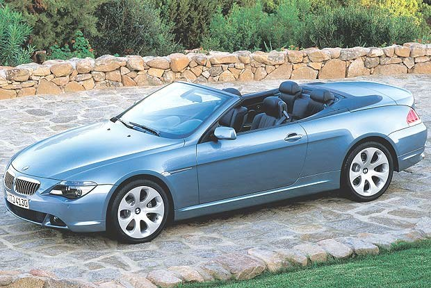 BMW 645Ci Cabriolet (kliknij) /INTERIA.PL