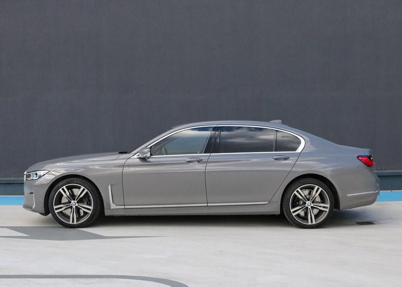 BMW 740Ld xDrive /INTERIA.PL