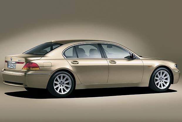 BMW 745Li o większym rozstawie osi (kliknij) /INTERIA.PL