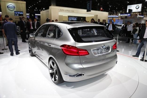 BMW concept active tourer z przednim napędem /