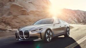 """BMW Concept i4 - zapowiedź nowego """"elektryka"""""""