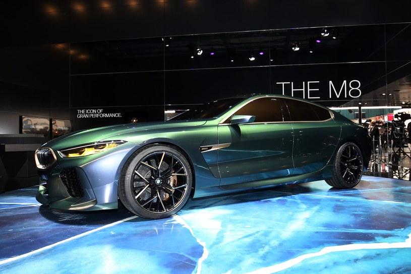 BMW Concept M8 Gran Coupe /