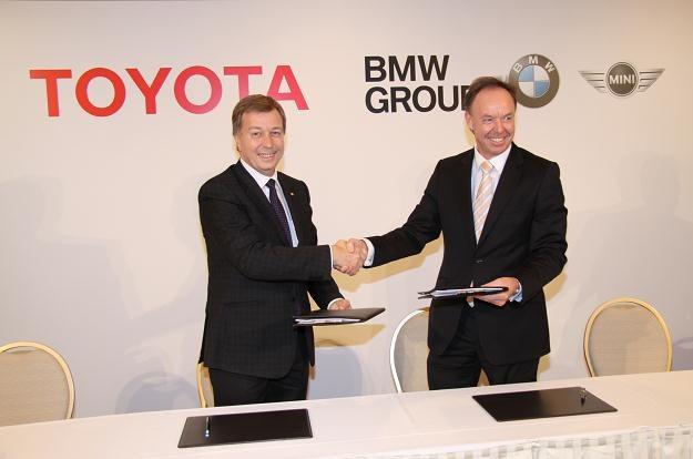 BMW i Toyota będą współpracować /