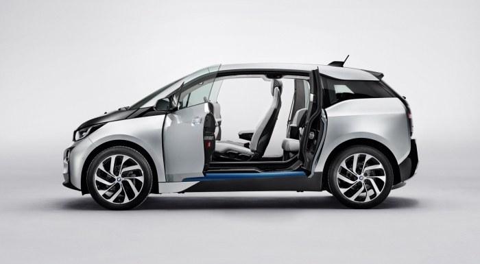 BMW i3 prezentuje się wyjątkowo /INTERIA.PL/informacje prasowe