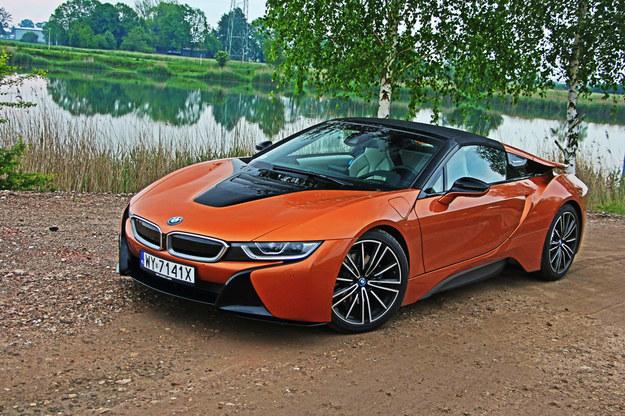 BMW i8 Roadster /INTERIA.PL