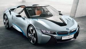 BMW i8 Spyder - ekologiczny sportowiec z przyszłości