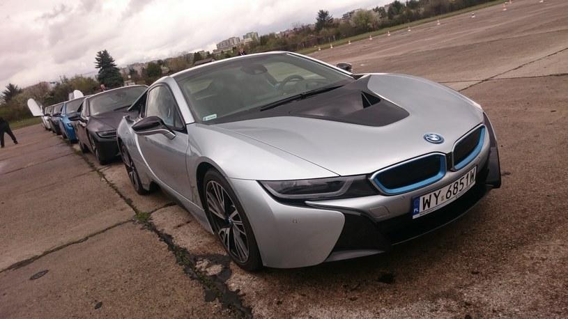 BMW i8 /INTERIA.PL