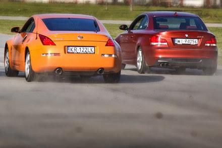 BMW kontra nissan /INTERIA.PL