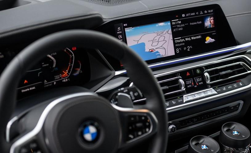 BMW Live Cockpit - szczyt systemów infotainment /INTERIA.PL