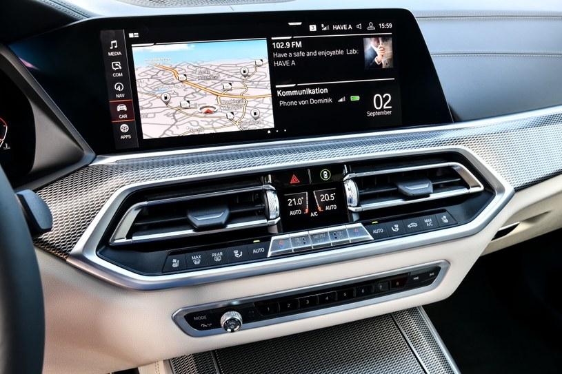 BMW Live Cockpit /materiały prasowe