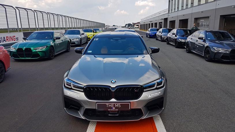 BMW M5 Competition /INTERIA.PL