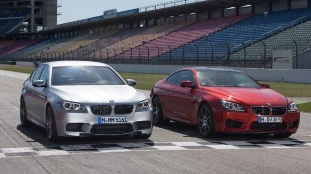 BMW M5 i M6 z pakietem Competition mają silniki wzmocnione z 560 do 575 KM. /BMW