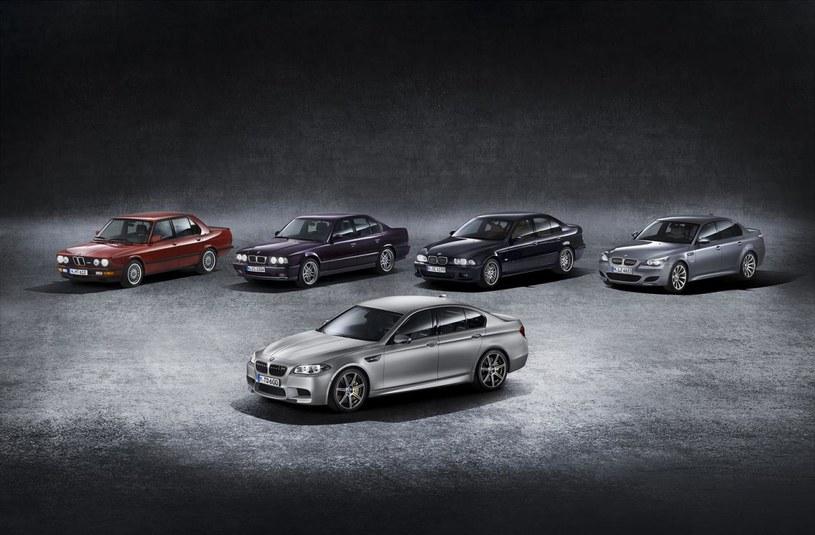 BMW M5 ma 30 lat /